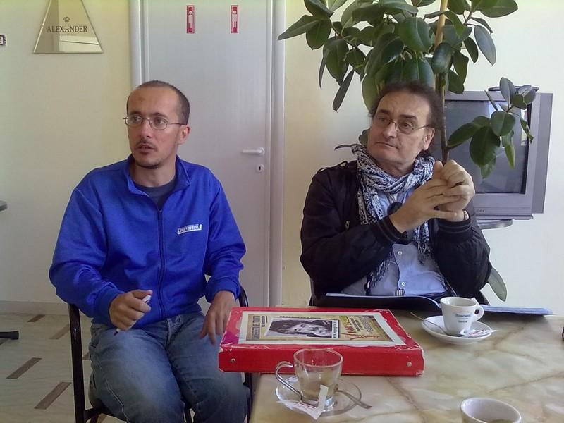 Andrea Mattioli e Peppe Giorgini del Movimento Cinque Stelle illustrano la loro denuncia
