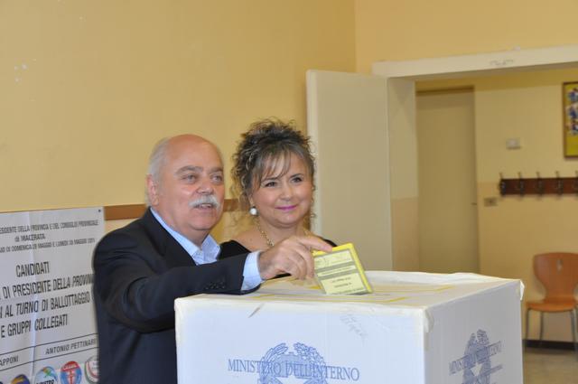 Antonio Pettinari, presidente Provincia di Macerata