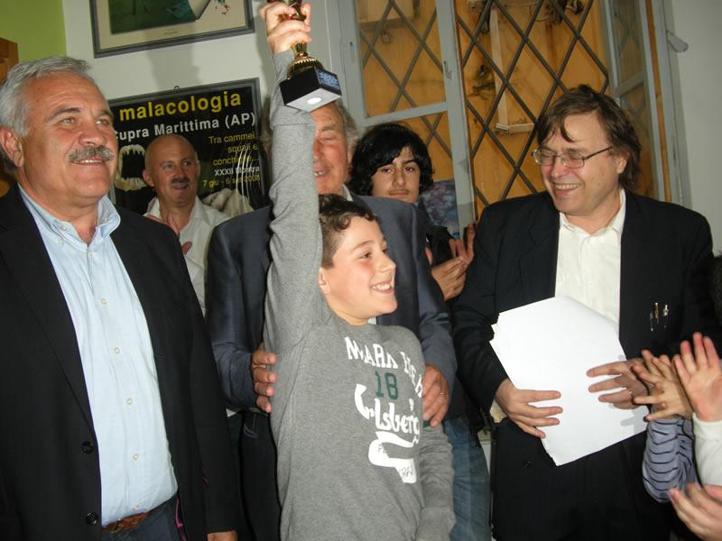 Giacomo Malavota, vincitore premio per il novantesimo anno di vita del Maestro Tomassetti, nel 2012 farà parte della giuria