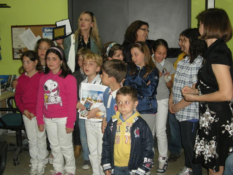 La scuola di Monfalcone Appennino, la migliore del Bambino Creativo 2011