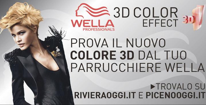 Wella 3d color effect, prova la nuova dimensione del colore