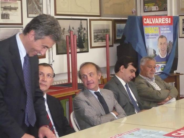 Andrea Ronchi in sostegno di Marco Calvaresi