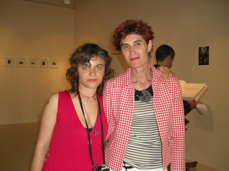 Maria Chiara Calvani e Alba Rossi