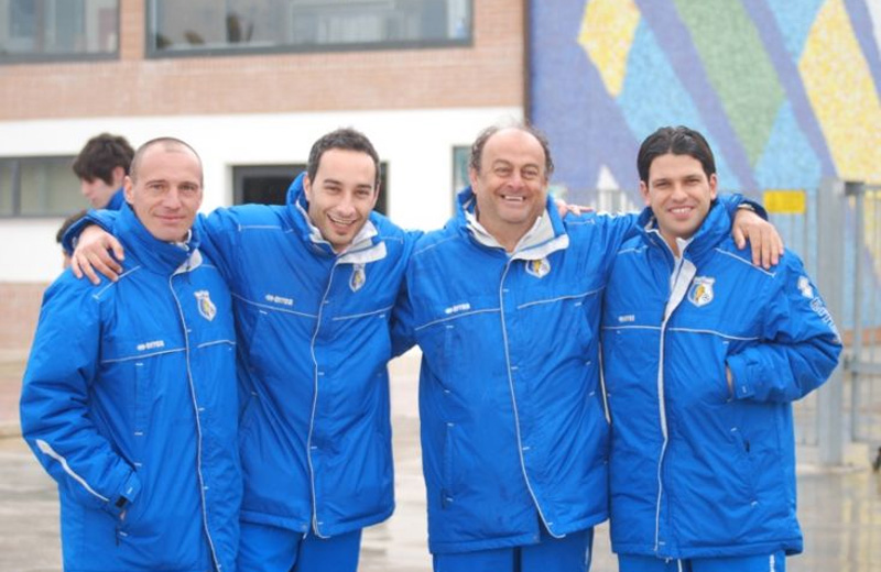 Nicola Fiscaletti, Rino Travasi, Daniele Fanì e Simon Luca Rastelli