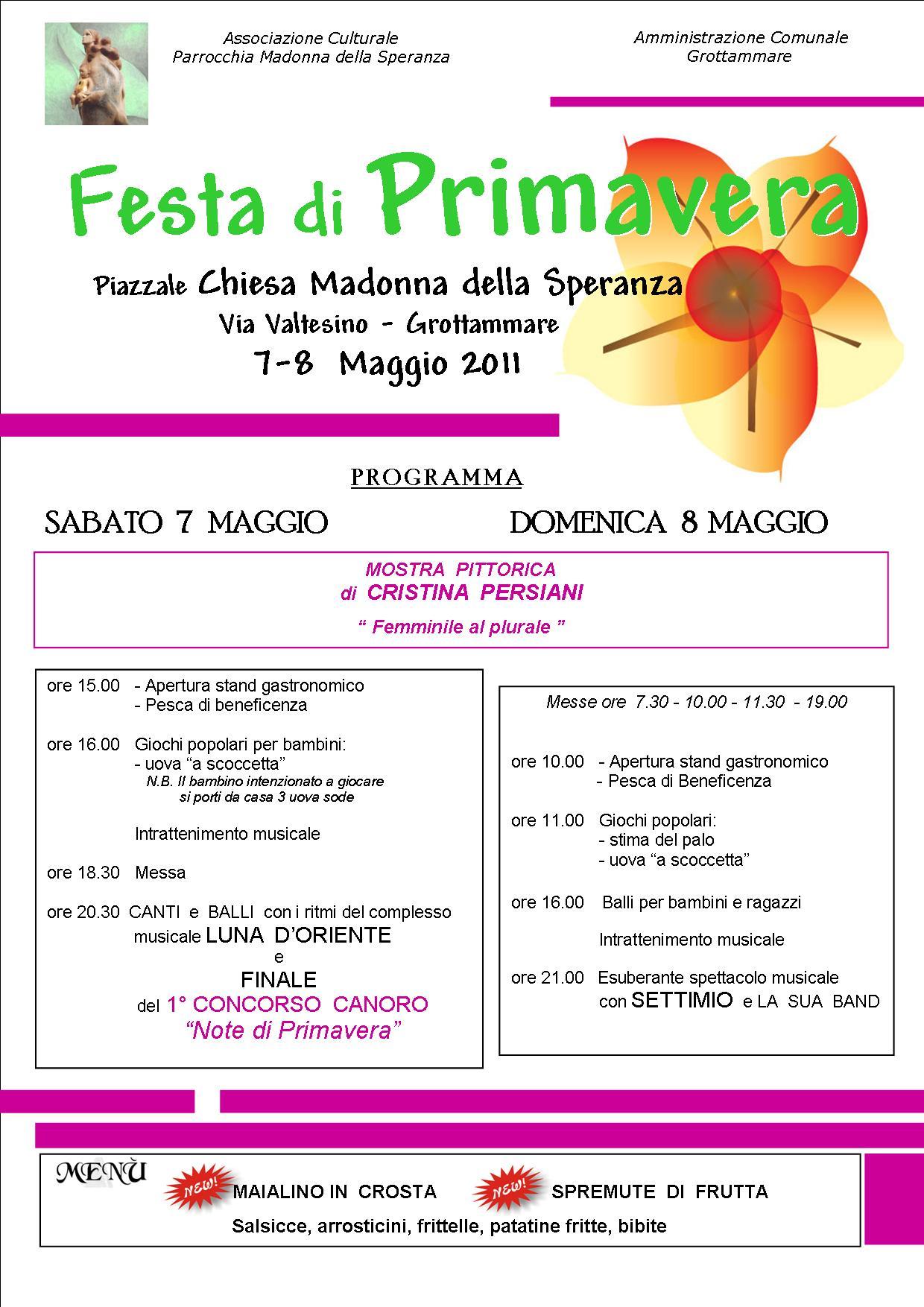 festa di primavera 2011