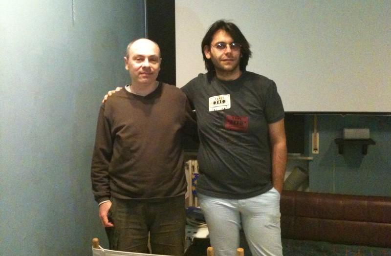 Il regista Lucilio Santoni e Umberto Croci di Lamantino Brothers