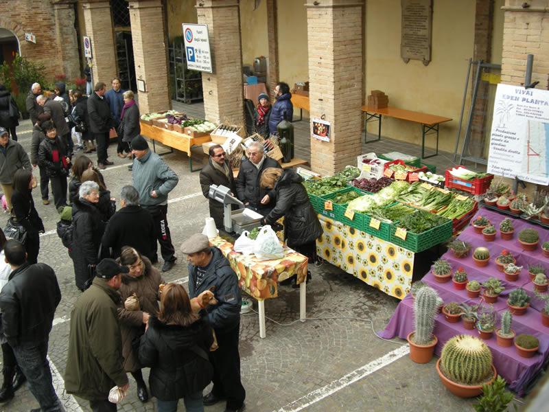 I produttori agricoli cuprensi alla festa di Sant'Antonio