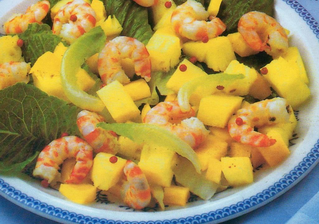Riviera Oggi InCucina propone le code di scampi all'ananas