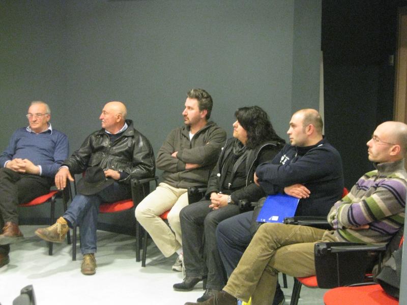 Alcuni dei soci fondatori dell'associazione Centopercento