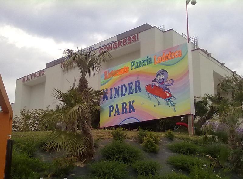 Il nuovo Kinder Park presso il PalaRiviera
