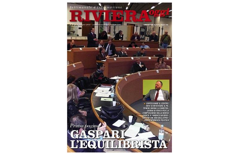 La copertina del settimanale Riviera Oggi numero 874, in edicola da lunedì 6 giugno