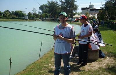 Giornata di pesca sportiva al Lago Verde di Nereto