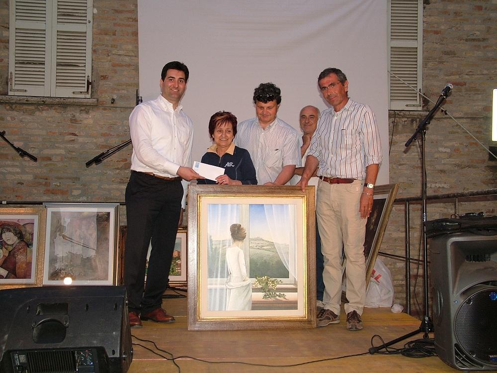 Amalia Di Sante insieme a Stefano Stracci e a Nedo Tiburtini