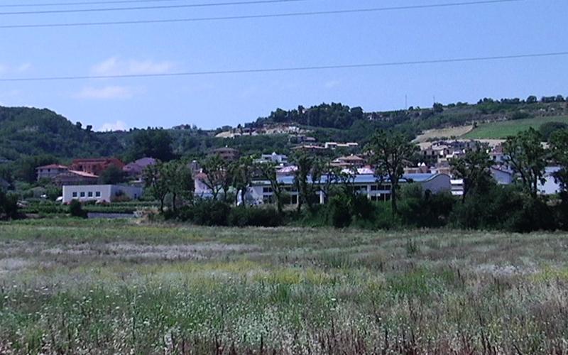 Grottammare: l'area vicina al casello A14 che ospiterà la Grande Opera della Fondazione Carisap