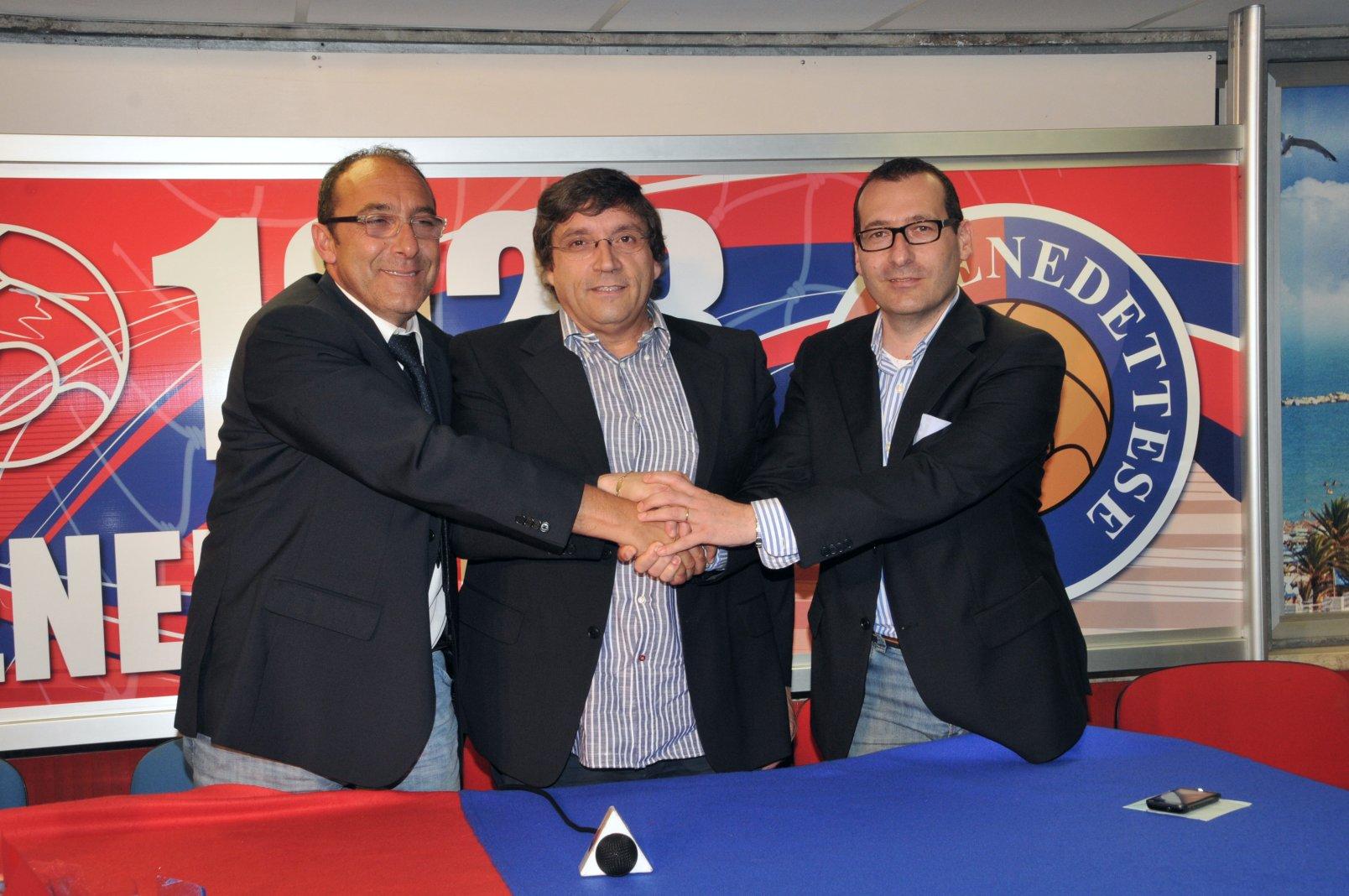 Bartolomei, Pignotti e Maurizio Spazzafumo, addetto alle pubblice relazioni