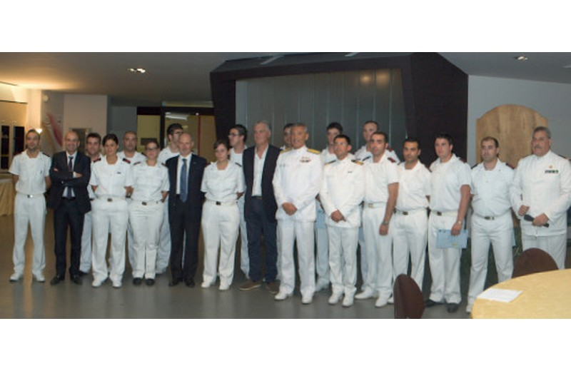 Capitaneria di Porto, Ipssar, Provincia e Comune: cena di gala per la fine del corso per i cuochi della Marina Militare