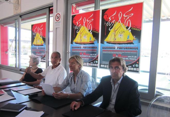 Conferenza Circolo Nautico presentazione spettacolo Caravan Stage Company