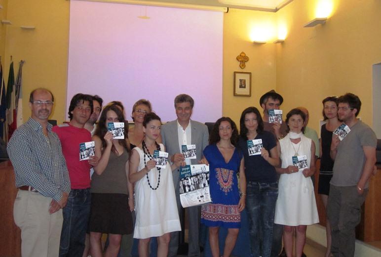 Conferenza presentazione Rassegna fotografica Collettivo f