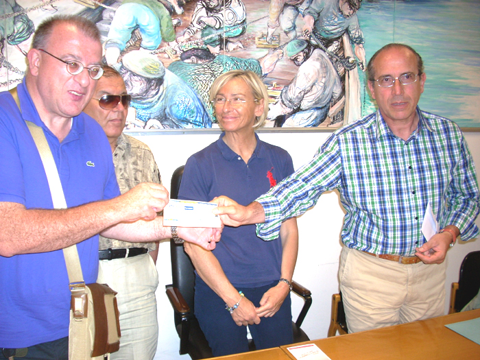 Rotary Club, la consegna dell'assegno