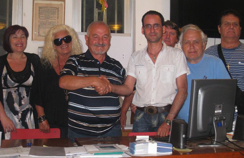 Franco Consorti e Massimo Clementoni