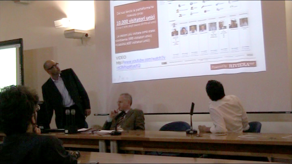 Pier Paolo Flammini al Working Capital di Telecom, Facoltà di Economia di Ancona