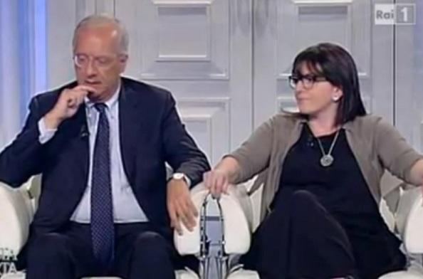 Walter Veltroni e Roberta Peci a