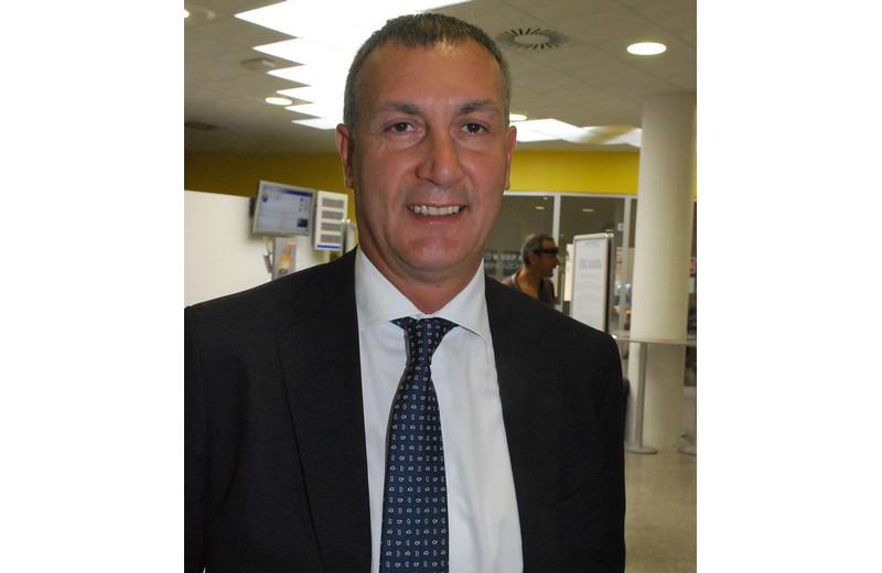 Marco Calvaresi (candidato sindaco dei centristi del Nuovo Polo Sambenedettese, oggi presidente del consiglio comunale)