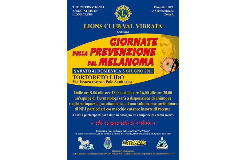 Prevenzione del melanoma 2011
