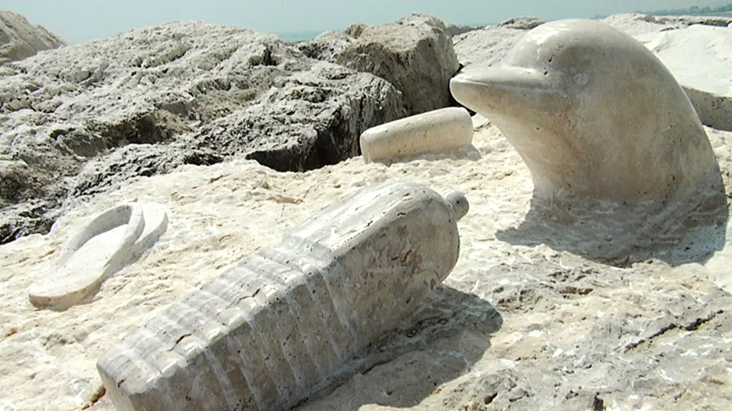 Scultura Viva 2011. Il piccolo delfino che piange di Miho Banac-Mijač