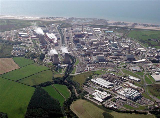 Sellafield, uno dei siti individuati dal Governo inglese per le nuove centrali