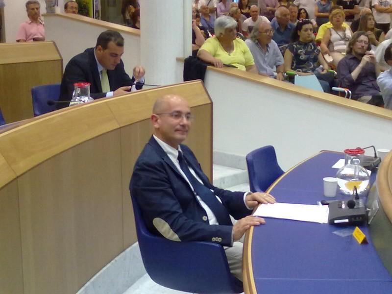 Domenico Pellei, consigliere Udc e rappresentante della Fides Vita sambenedettese