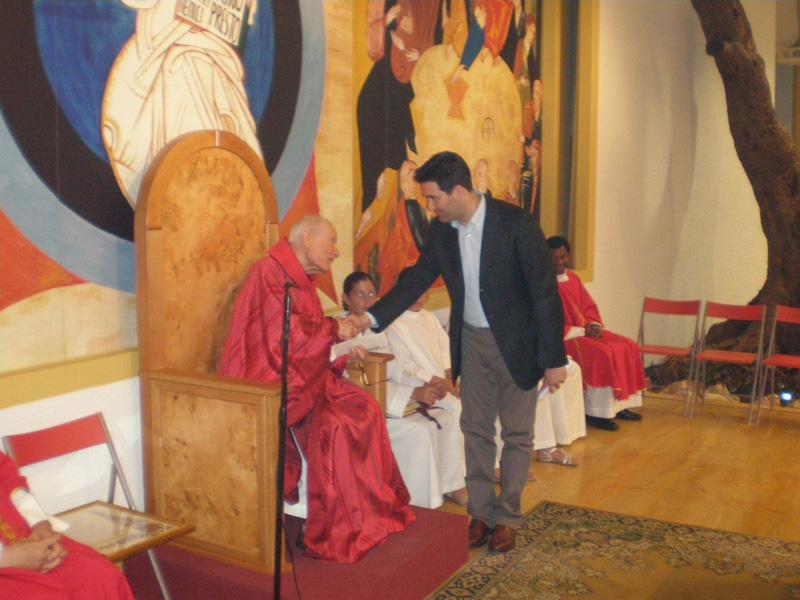 Don Remo e il sindaco Stefano Stracci