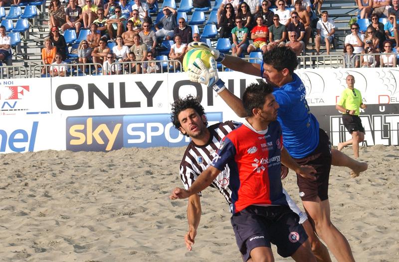 Samb Beach Soccer, Durval nella trionfale tappa di Viareggio (foto Troiani)