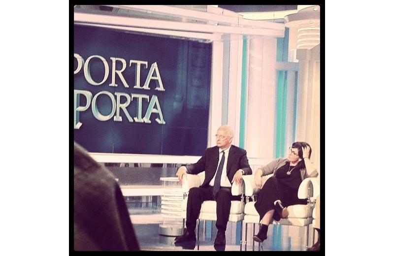 Roberta Peci con Walter Veltroni a