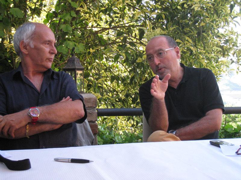 Da sinistra: Mimmo Minuto e Teodorico Compagnoni
