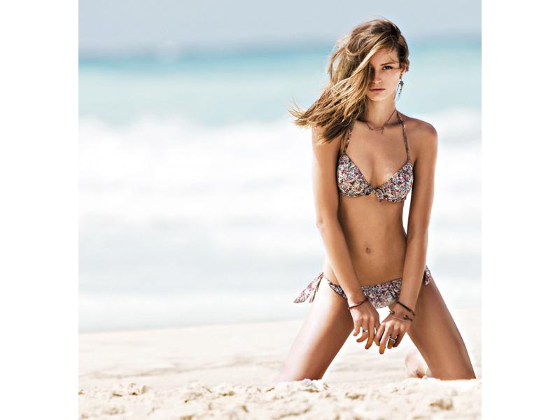 Un bikini Verdissima, da Noi Due Lingerie