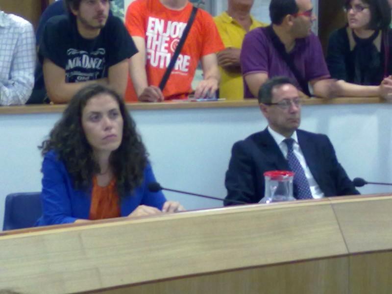 Annalisa Ruggieri e Pasqualino Piunti del Pdl