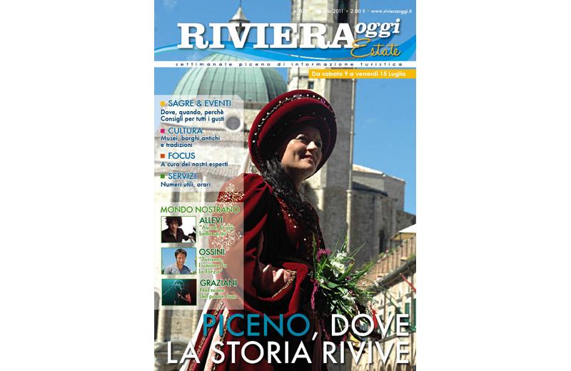 La copertina di Riviera Oggi Estate numero 878