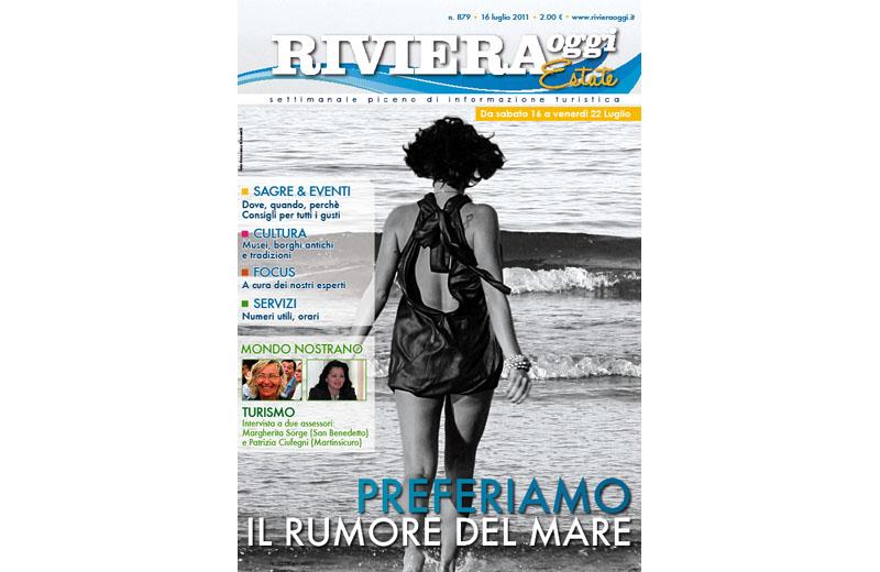 La copertina di Riviera Oggi Estate numero 879 del 16 luglio