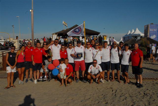 Samb Beach Soccer, la gioia per il sesto posto