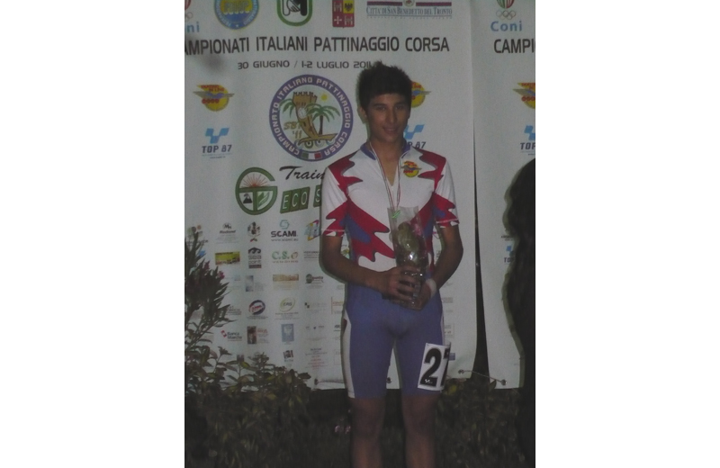 Fabio Catalini, argento nella 5000 punti Allievi