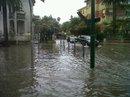 Il centro di San Benedetto sott'acqua, 5 luglio 2011 (foto Fb Paolo Panichi)