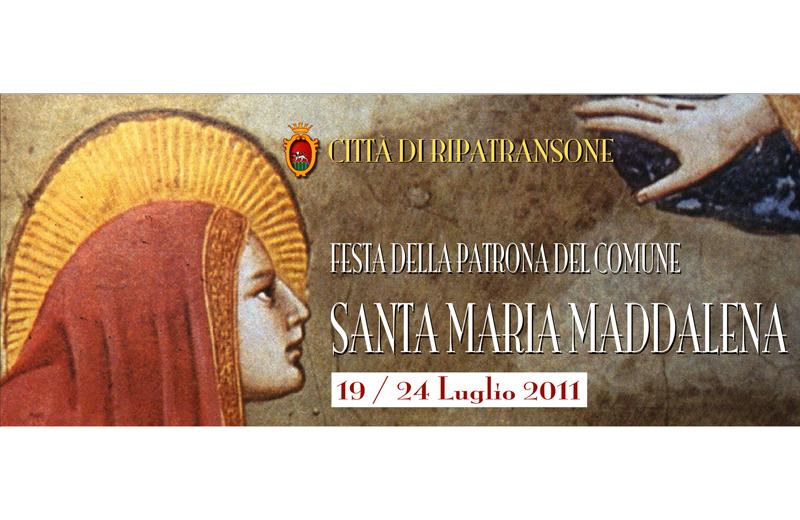 Ripatransone in festa per la Patrona Santa Maria Maddalena