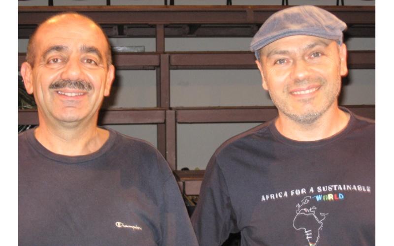 Piergiorgio Cinì e Lucilio Santoni