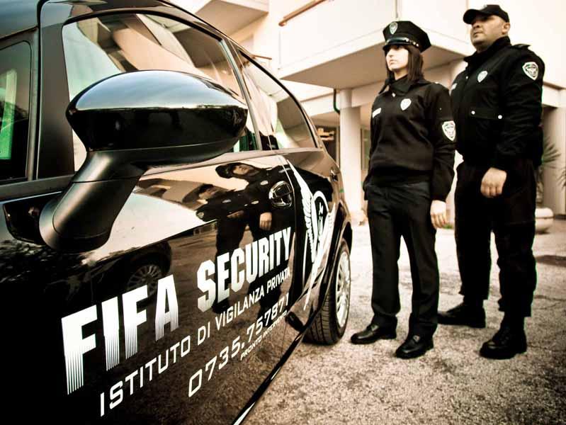 Agenti della Fifa Security