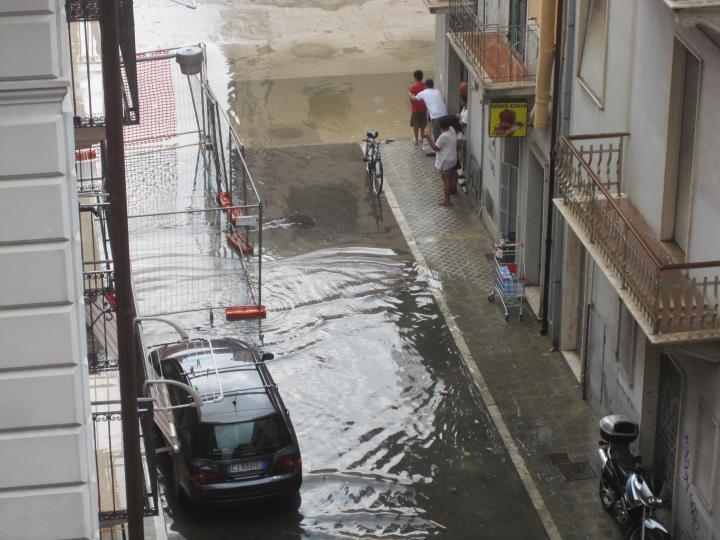 San Benedetto allagata, 24 luglio 2011 (foto Elisa Ugo Gilormello)