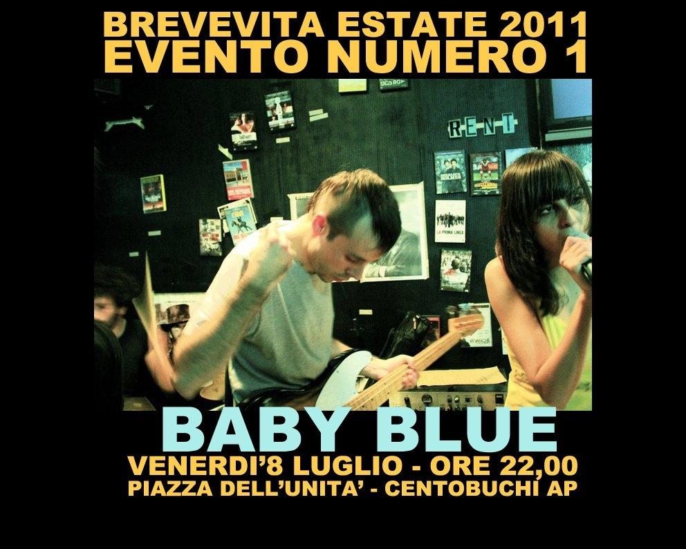 La locandina dei Baby Blue