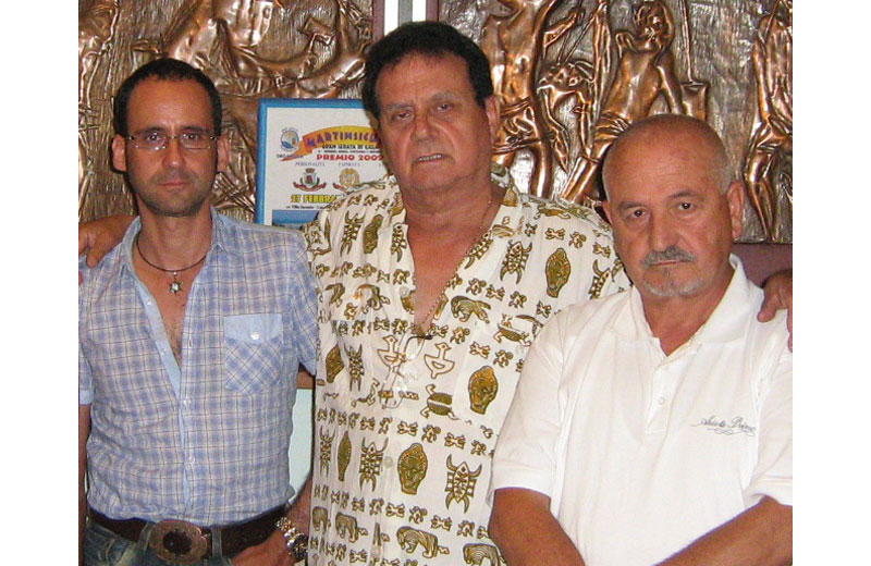 Massimo e Nino Clementoni e Franco Consorti