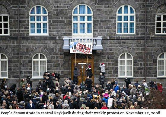 Gli islandesi in azione nel 2008