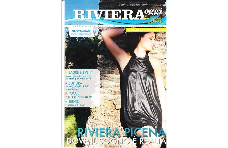 La copertina di Riviera Oggi Estate numero 880